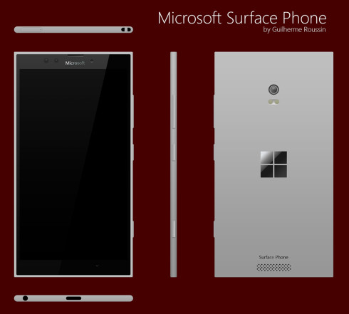 microsoft surface phone mockup january 2016