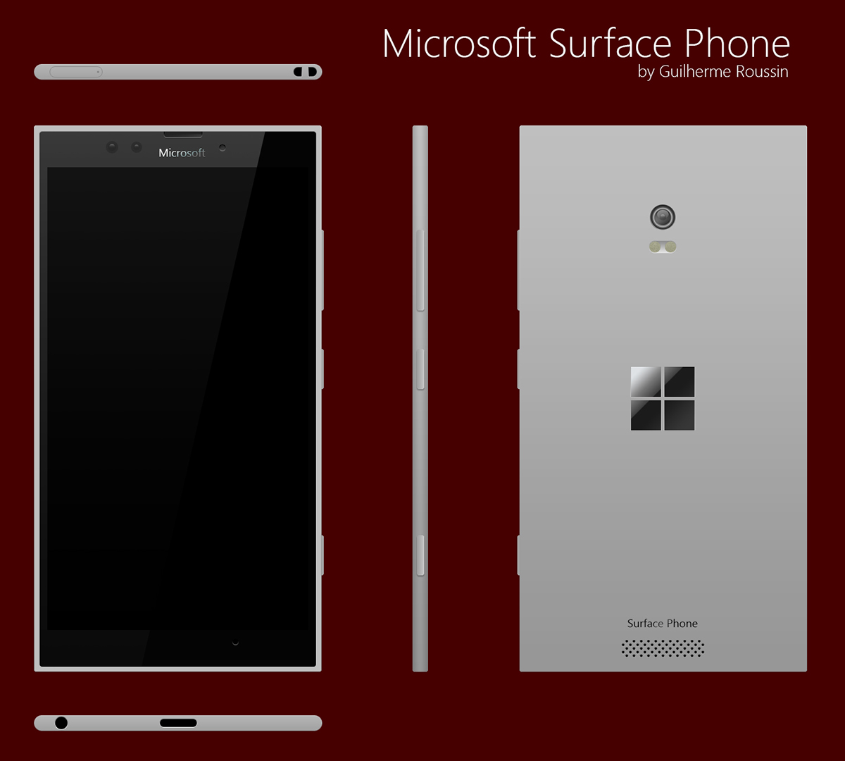 microsoft surface phone 2017. microsoft surface phone mockup january 2016 2017