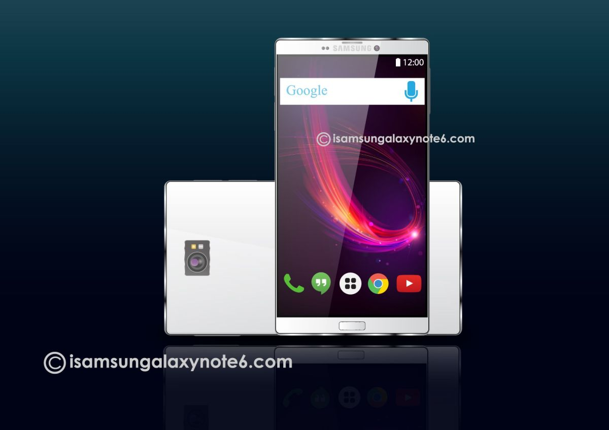 Samsung Galaxy Note 6 Gets First Renders of 2016, Looking Much Flatter Than I'd Like | Concept ...