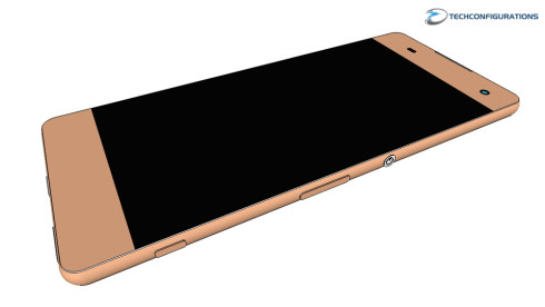 Sony Xperia C6 3D rendering 1