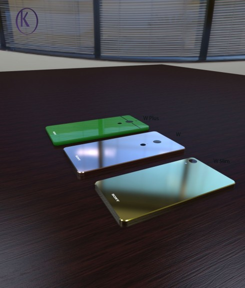 Sony Xperia W1 series concept phones 4