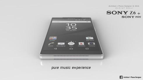Sony Xperia Z6 concept ashraf amer (1)