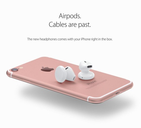 iPhone 7 airpods concept 1