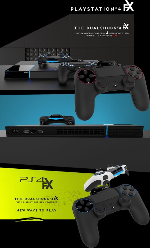 Sony PlayStation 4 FX concept design (1)