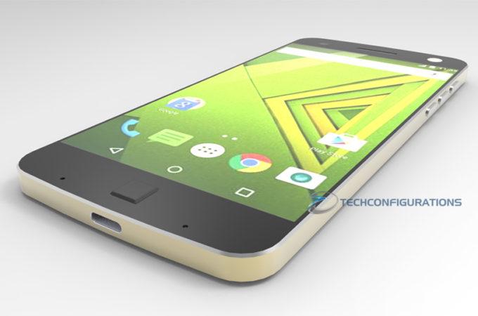 Motorola Moto X 2016 concept 3D render  (2)