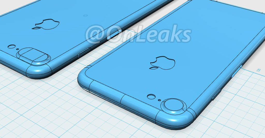 iPhone 7 and iPhone 7 Plus Blueprints and Schematics Leaked ...