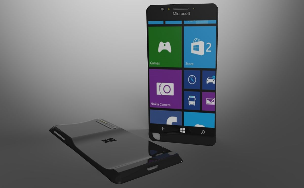 Nokia Lumia Black Has A Strange Form Factor May Offer Nice 2016 Concept Phone 1