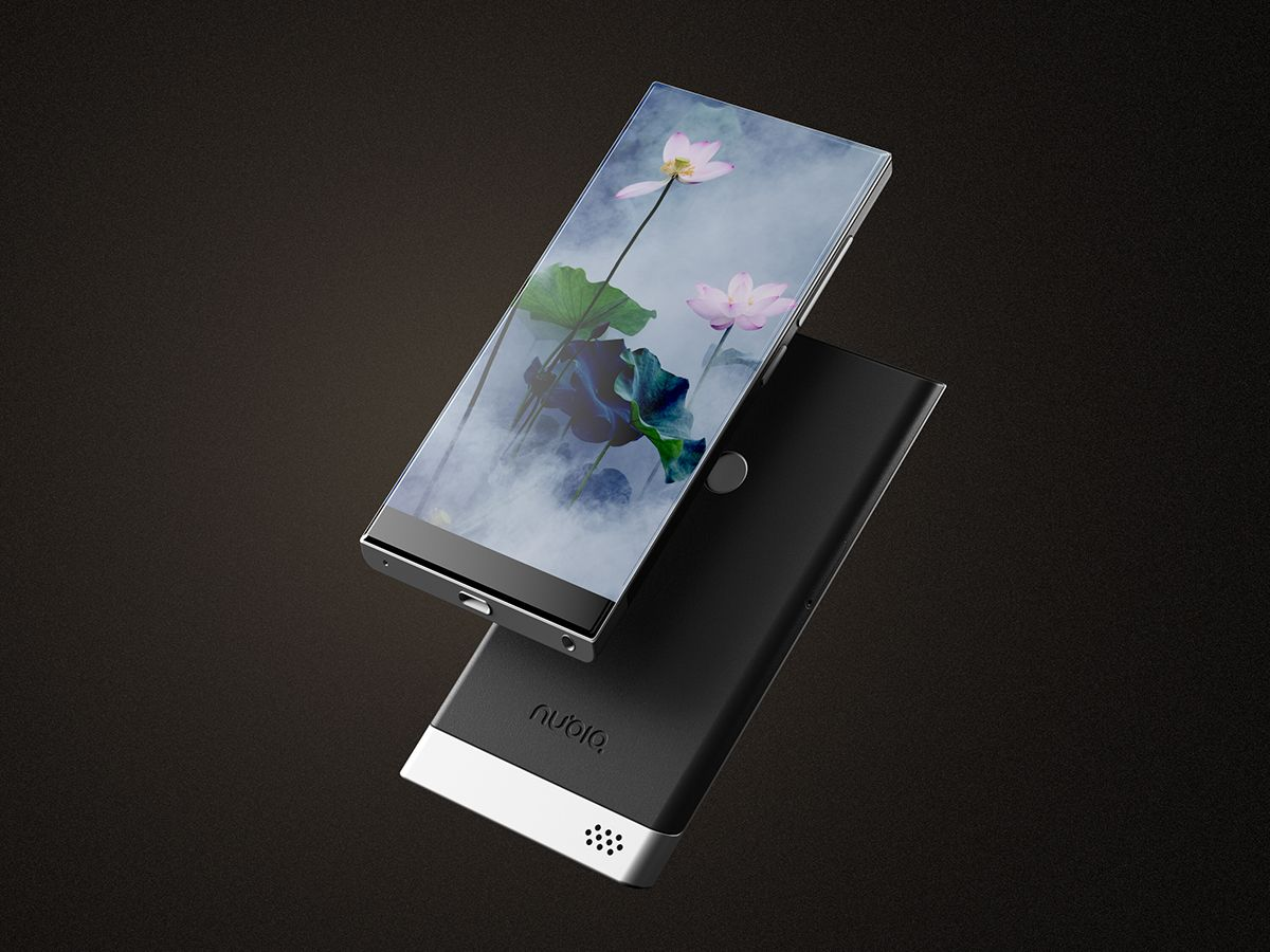 Tv Display Ideas Nubio Bezel Less Phone Is Very Pretty Has A Sliding Back