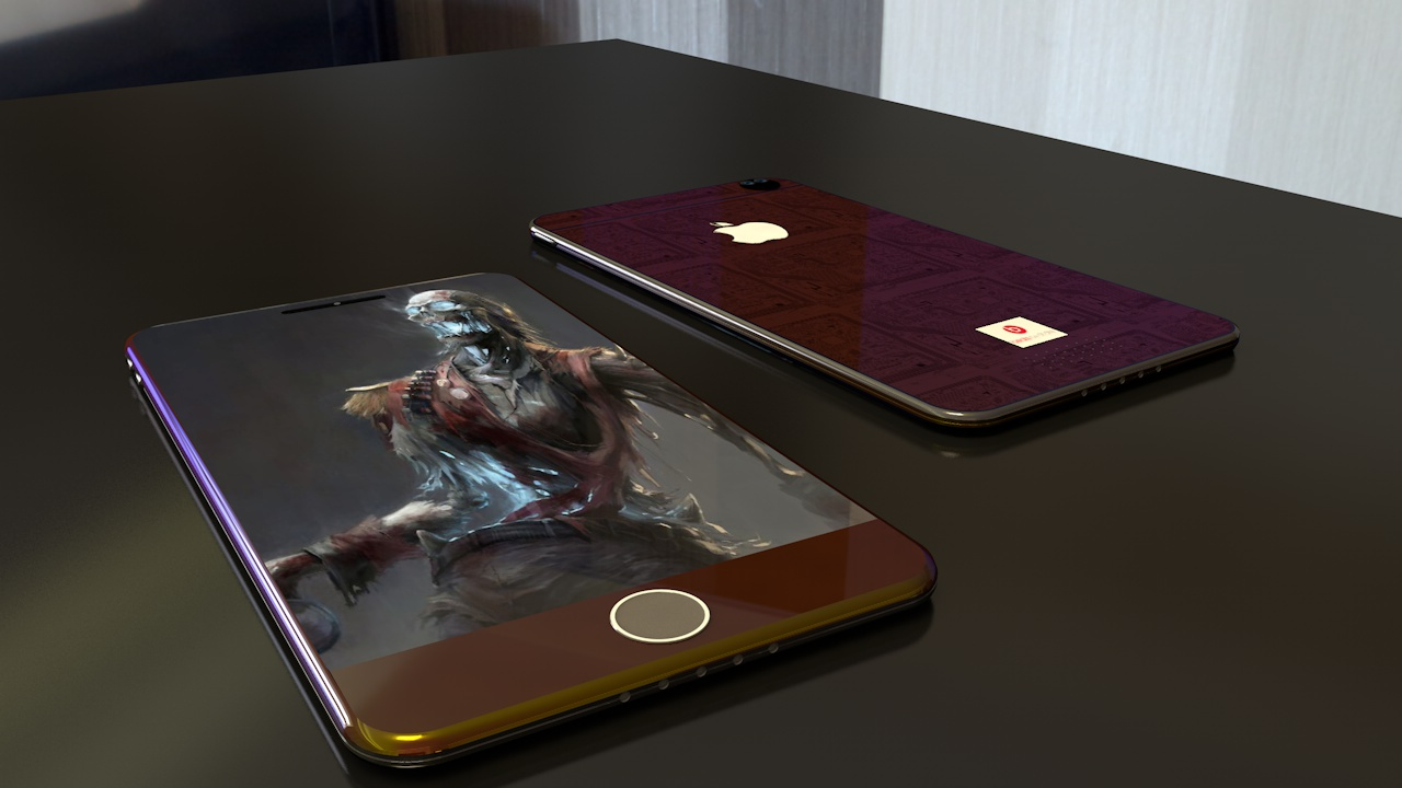 Iphone 6 Not Charging >> iPhone 7cs Concept Comes With 20 Multi Colored Meta Casings, Dual Camera | Concept Phones