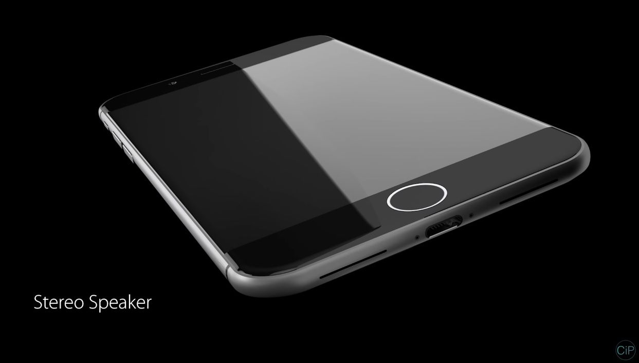 iphone 8 concept goes back to glass sapphire glass that is video concept phones. Black Bedroom Furniture Sets. Home Design Ideas