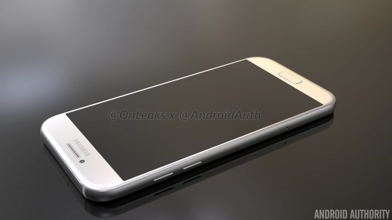 samsung galaxy a5 2017 gets fresh cad renders leaked. Black Bedroom Furniture Sets. Home Design Ideas