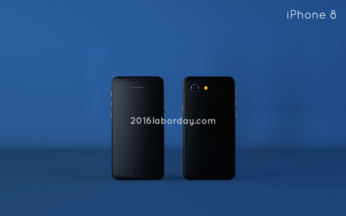 iPhone 8 Concept is Curvier, Bigger, at 4.9 Inches in Diagonal (Video ...