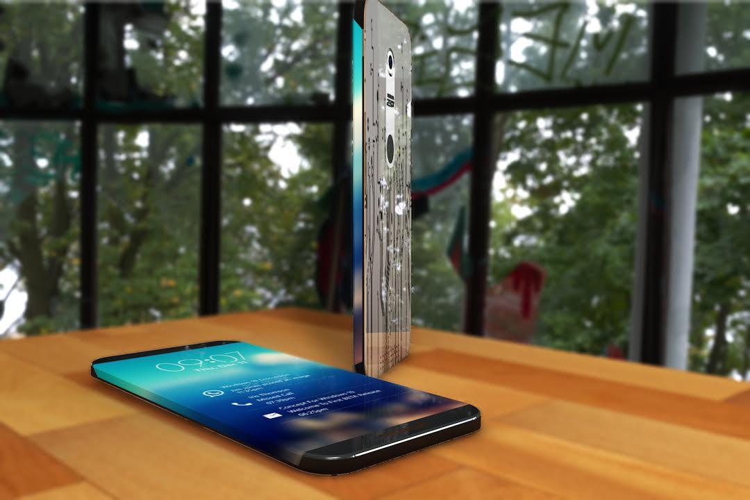 Nokia Edge Concept Phone Has A Secondary Multimedia Screen