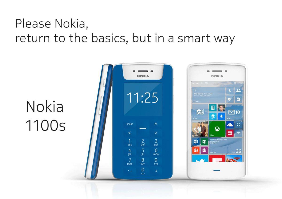 Nokia 1100 remake | Concept Phones