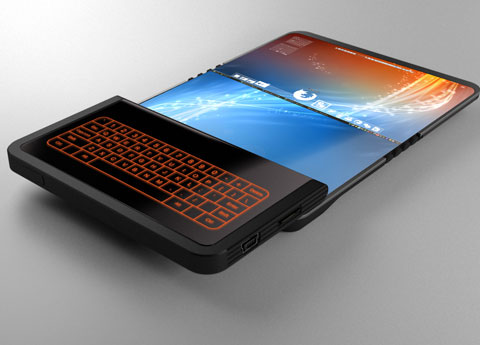Folding Screen Technology Revealed, Phone of the Future ...