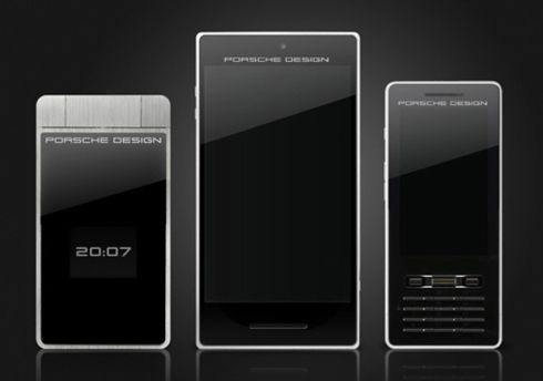 porsche design smartphone captures 3d images concept phones. Black Bedroom Furniture Sets. Home Design Ideas