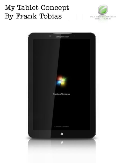 Groovy Sony Ericsson Tablet With Windows 7 On Board Needs A Name Interior Design Ideas Grebswwsoteloinfo
