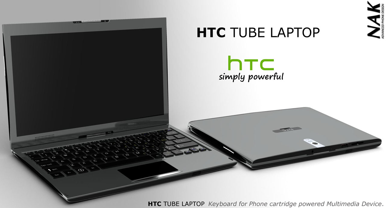 Htc Tube Concept Is A Laptop Tablet Phone Concept Phones