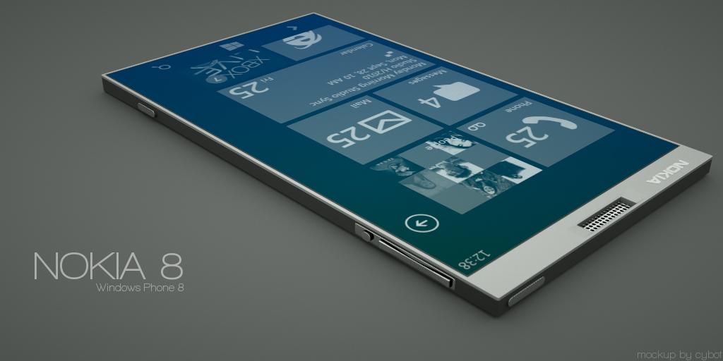 nokia 8 mockup 4 concept phones