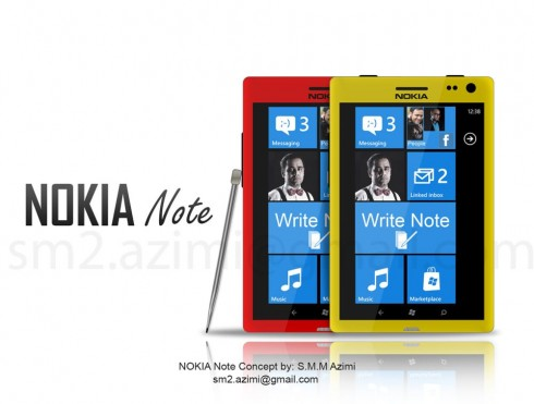 Nokia Note Phablet Has a Very Interesting Music Player ...