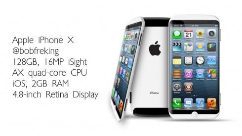 Apple iPhone X concept