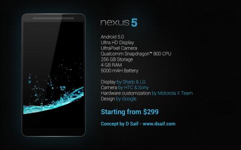 Nexus 5 Concept