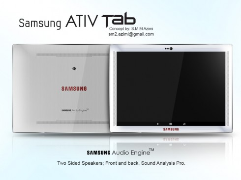 Samsung Ativ Tab concept 1