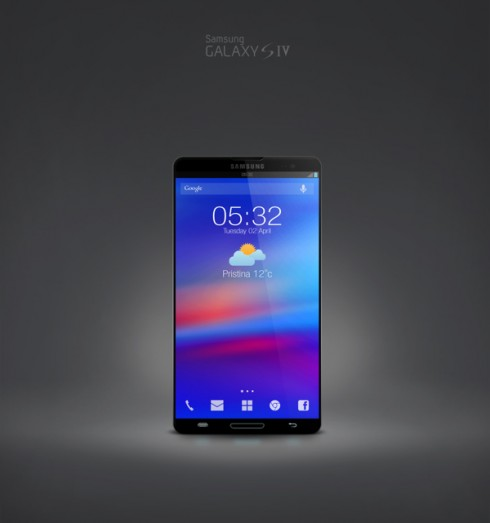 Samsung Galaxy SIV concept 1