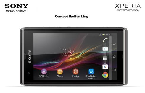 Sony Xperia UL Landscape Concept