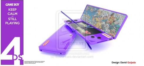 Nintendo 4DS concept