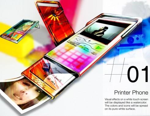 printer phone concept