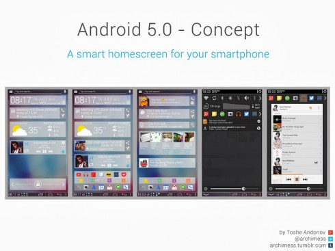Android 5 concept toshe andonov 1