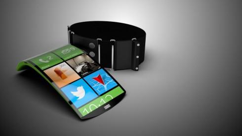 Hook bracelet phone concept 1