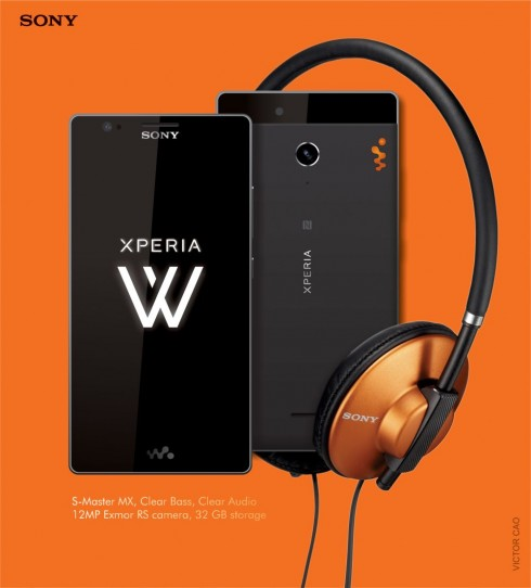 Sony xperia W_1