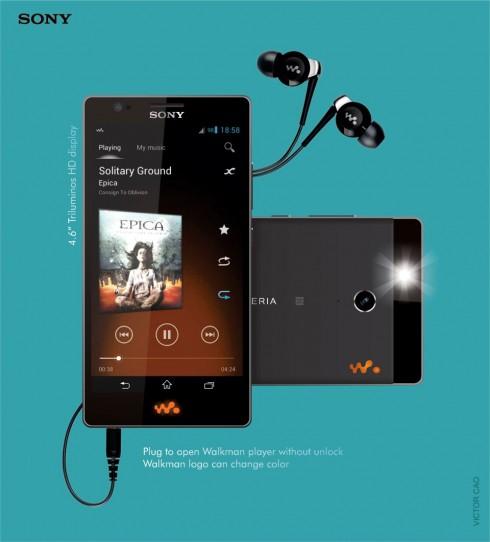 Sony xperia W_2