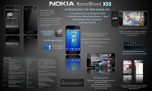 nokia xs5 concept