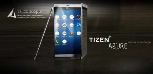 Tizen Azure concept phone 1