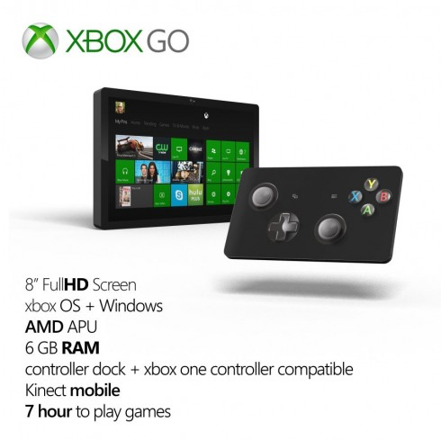 xbox go tablet