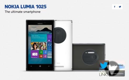 NOKIA LUMIA 1025 concept