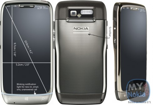 Nokia E71 wp8 1