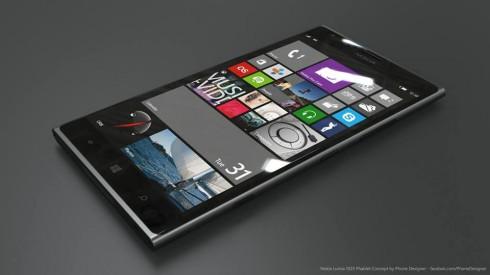 Nokia Lumia 1025 phablet concept 1
