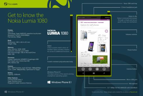 Nokia Lumia 1080 mockup 1