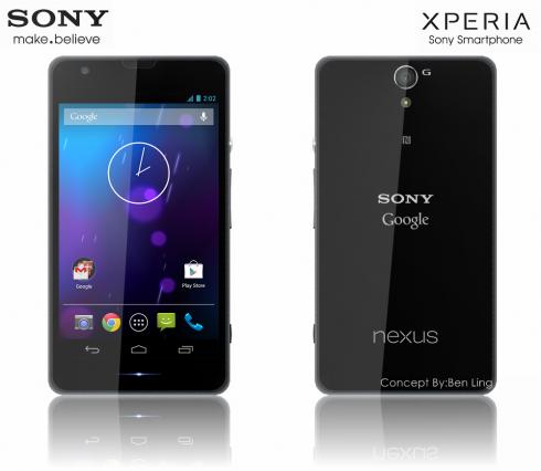 Sony Google Nexus 5 Concept