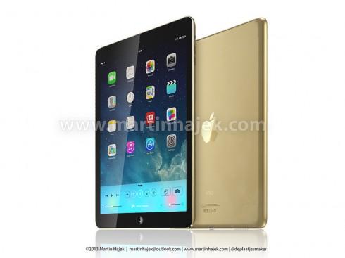 iPad 5 gold