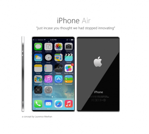 iPhone air concept new