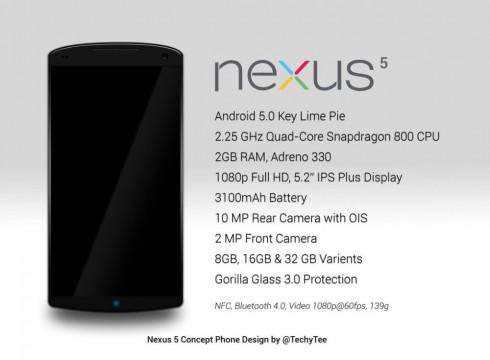 nexus 5 concept techytee