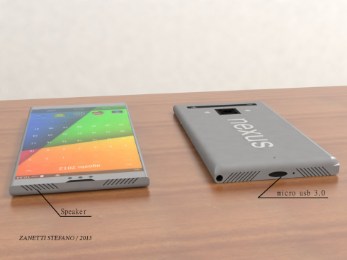 Perfect Nexus phone concept 1