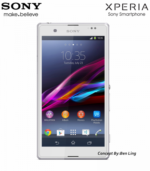 Sony Xperia ZP Concept
