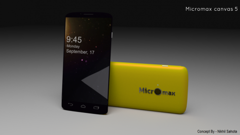 micromax canvas 5 android kitkat