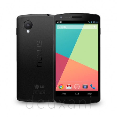 nexus 5 rendered theverge